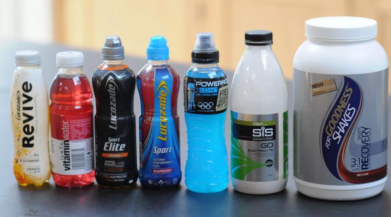Спортивные напитки для тренировок – дорогая красивая бутылка