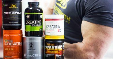 Креатин моногидрат. Спортивное питание - путь к силе в спорте